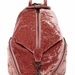 Rebecca Minkoff Medium Velvet Julian Backpack New!